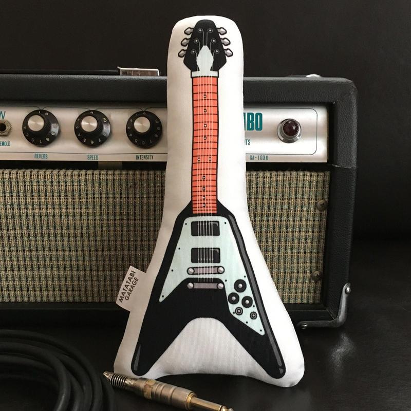 またたびロックンロール ギター(ブラック)