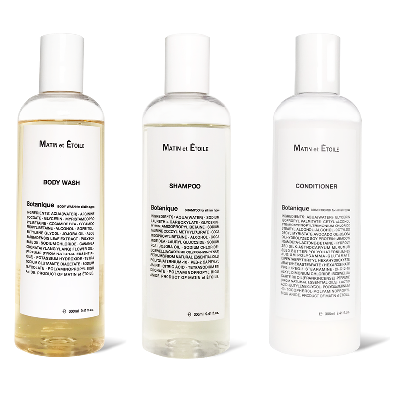 SET |  Botanique BODY WASH & SHAMPOO & CONDITIONER