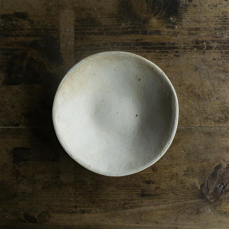 厚川文子 丸皿