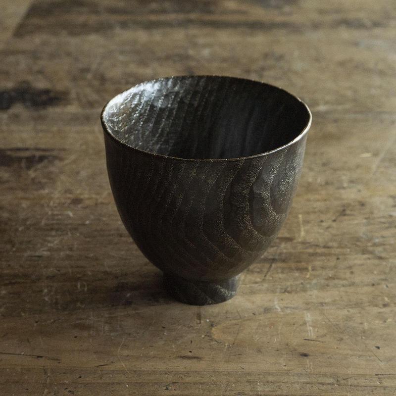只木芳明 錫杯