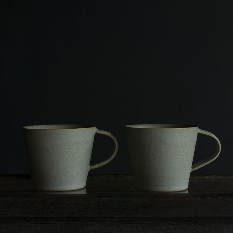 安藤由香 マグカップ A ブルーグレー