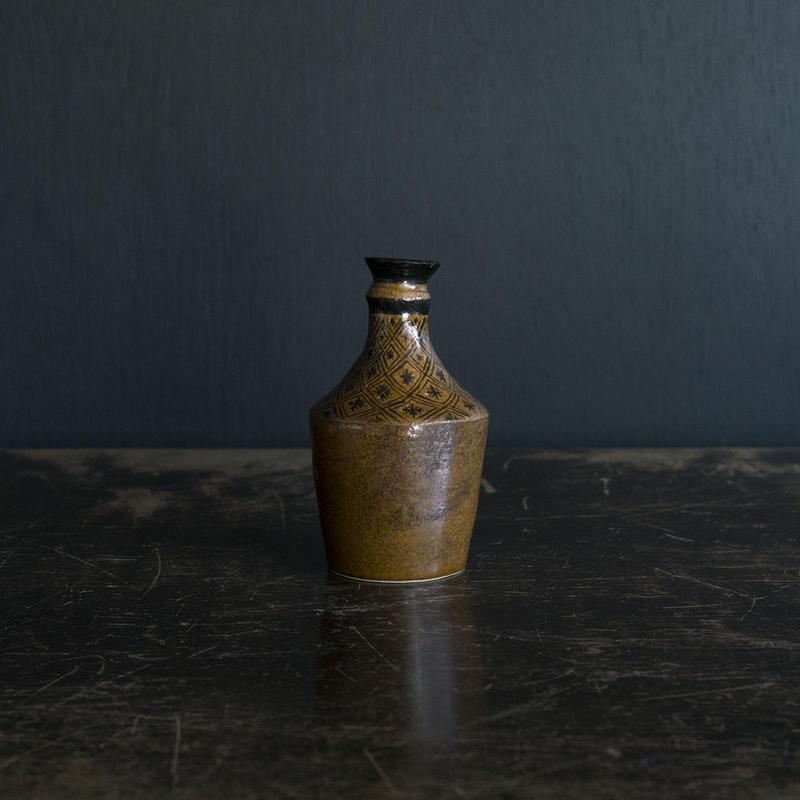 升たか 飴釉ボトル(小)