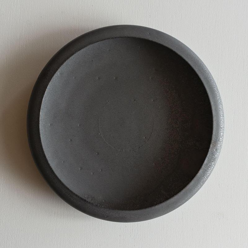 船串篤司 鉄釉鉢