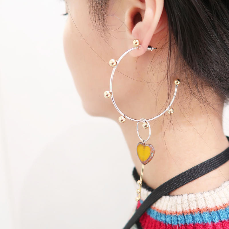 恋心hoop pierce(earring)