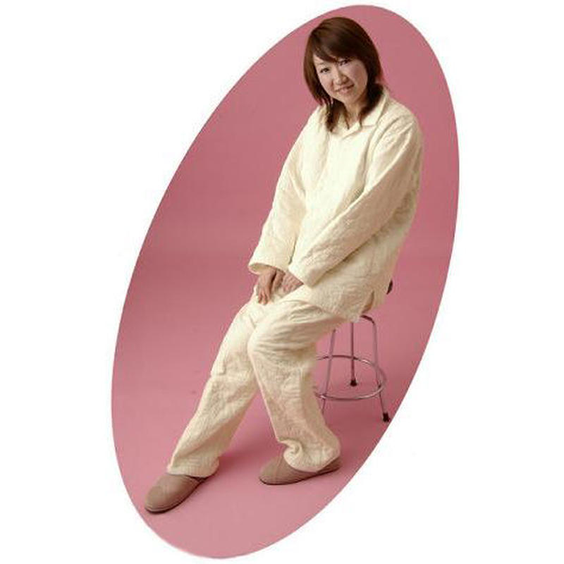 [龍宮] パシーマ衿ありパジャマ Lサイズ