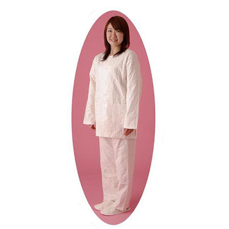 [龍宮] パシーマ衿なしパジャマ Lサイズ