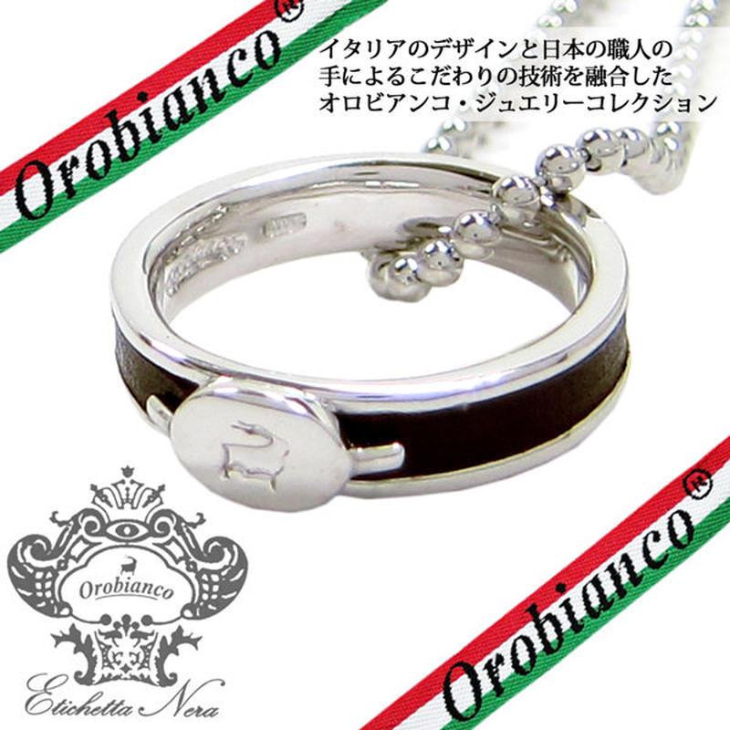 日本製 Orobianco オロビアンコ リング ネックレス 指輪 アクセサリー #11 #15 #17 #19 サイズ選択