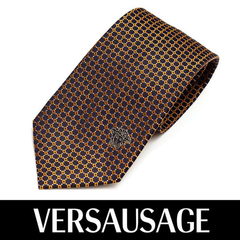 VERSACE ヴェルサーチ ネクタイ 新柄 メンズ 紳士 (40)