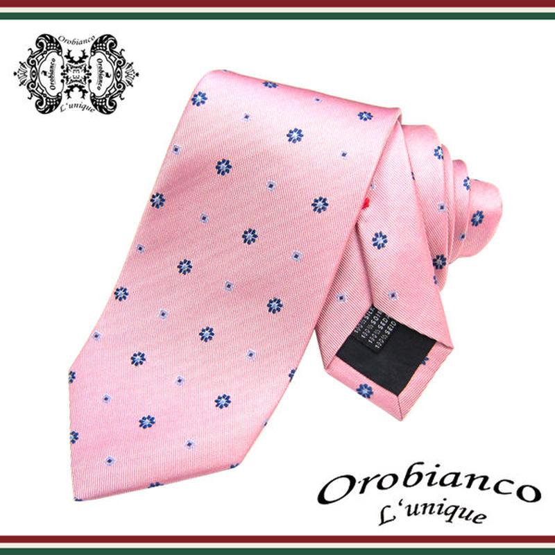 Orobianco L'unique オロビアンコ ルニーク ネクタイ 新柄 シルク メンズ 紳士 ビジネス  (46)