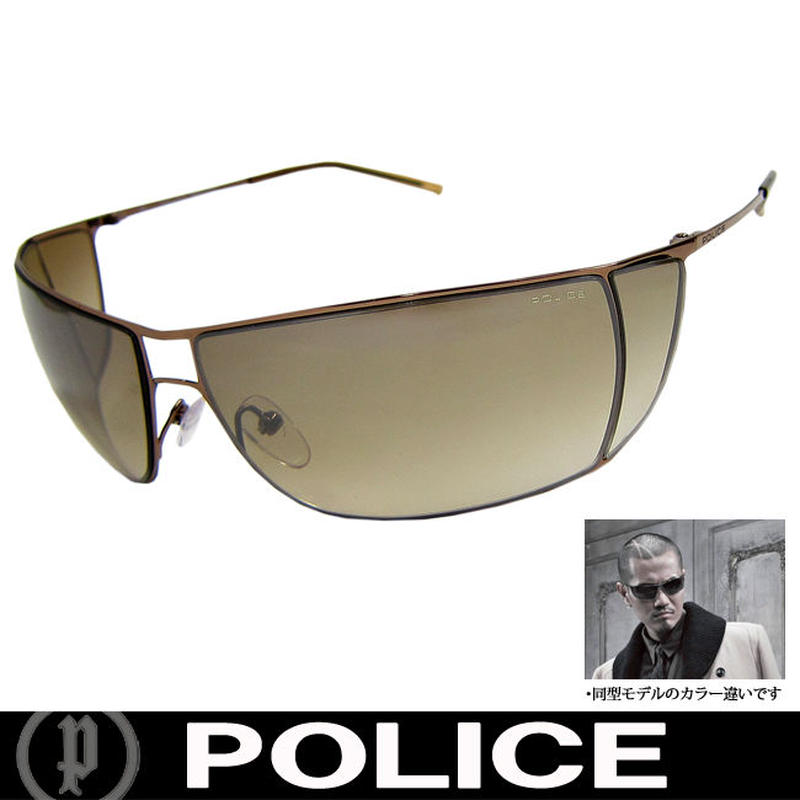 POLICE ポリス 復刻版 ミラー サングラス EXILE ATSUSHI着用 国内正規代理店商品 (28)