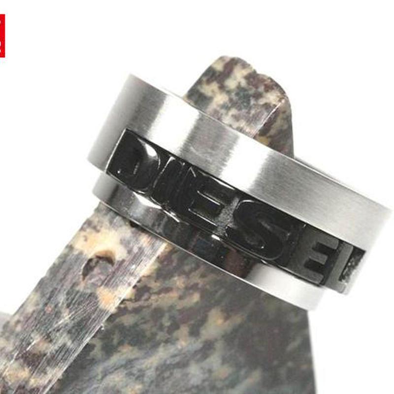 DIESEL ディーゼル ロゴ リング 指輪 DX0008-8