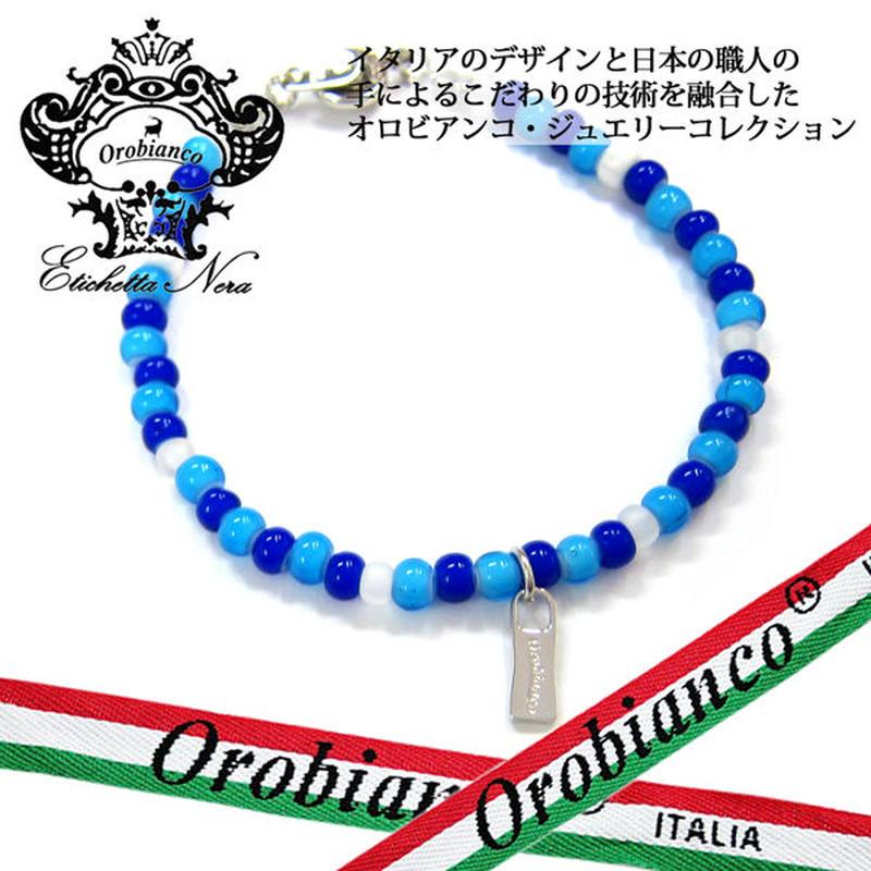 日本製 Orobianco オロビアンコ ブレスレット ビーズ アクセサリー (383)
