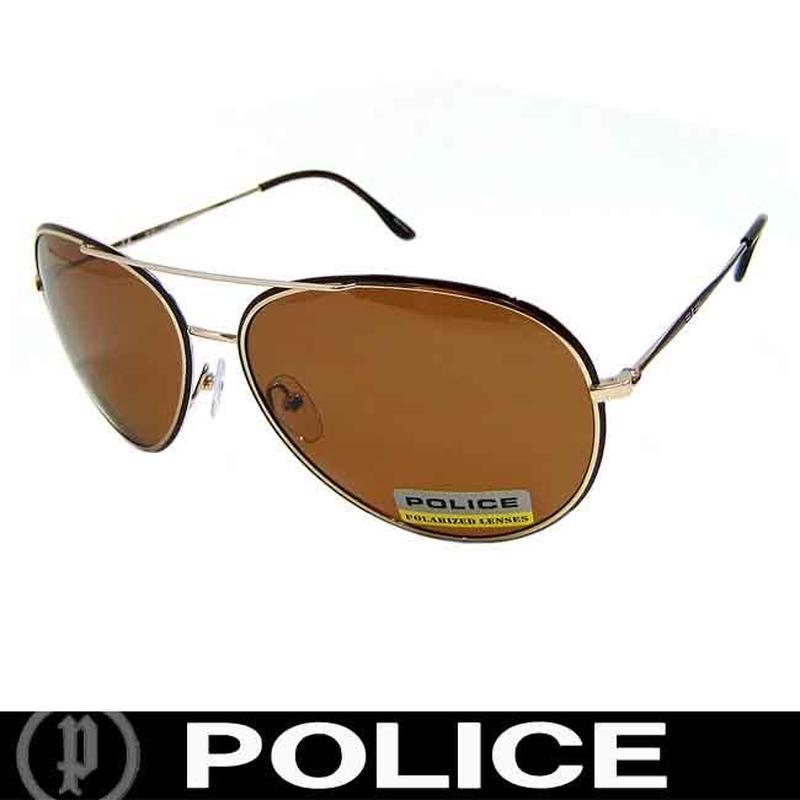 POLICE ポリス 偏光 サングラス ティアドロップ S8299 F93P 国内正規代理店商品
