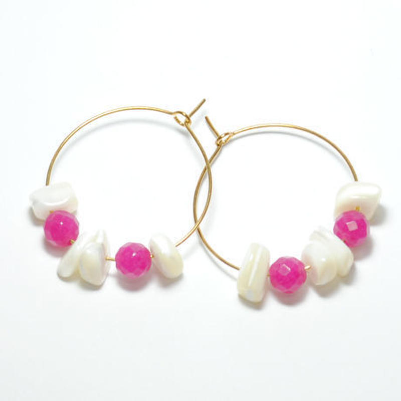 loop shell&pink