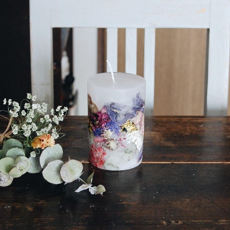 After Bouquet Candle size:M
