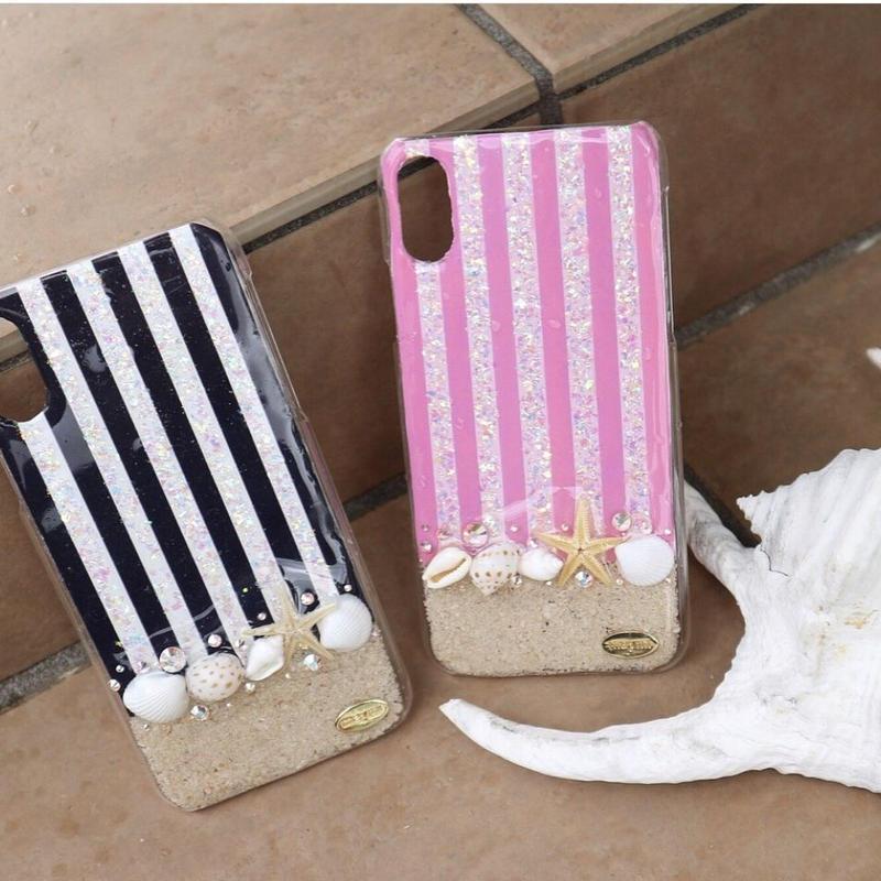 stripes beach case