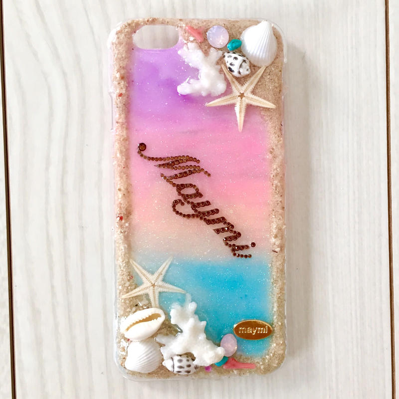 coral&sunsetbeach case