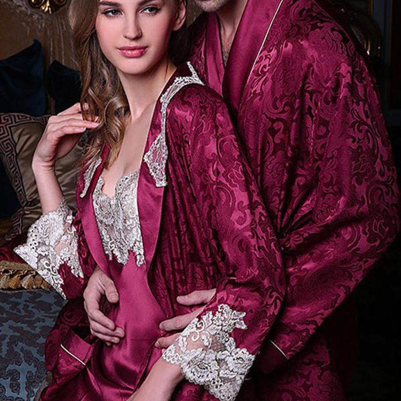 (MAYUDAMAシルク)シルク スリップ ガウン 絹100% 刺繍レース インナー キャミソール レディース 高貴 優雅 エレガント パジャマ ネグリジェ 2ピースセット