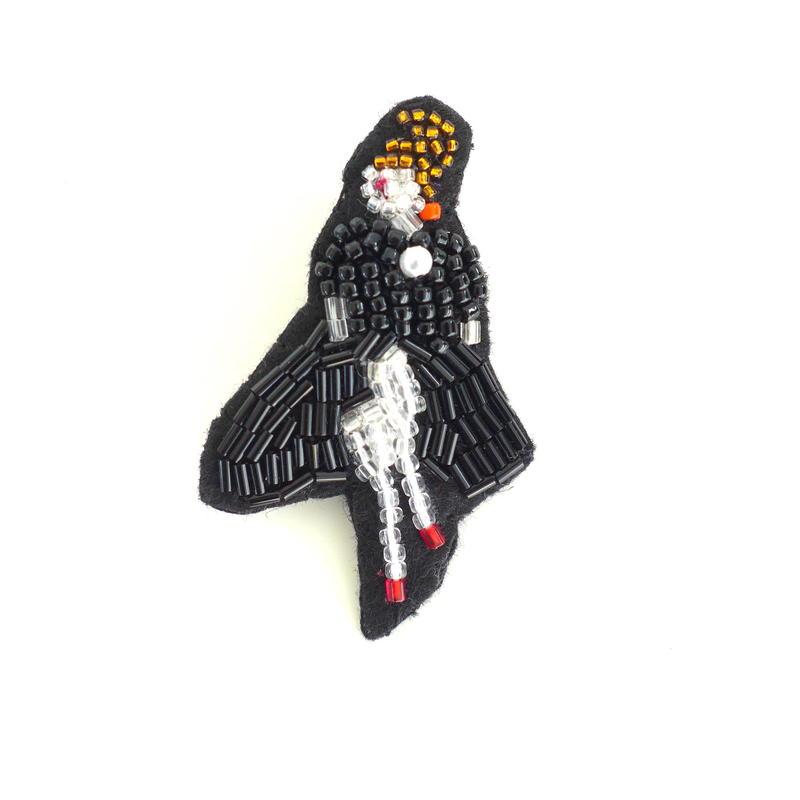 lady(レディ)  | ビーズピンバッジ hand made beads pin