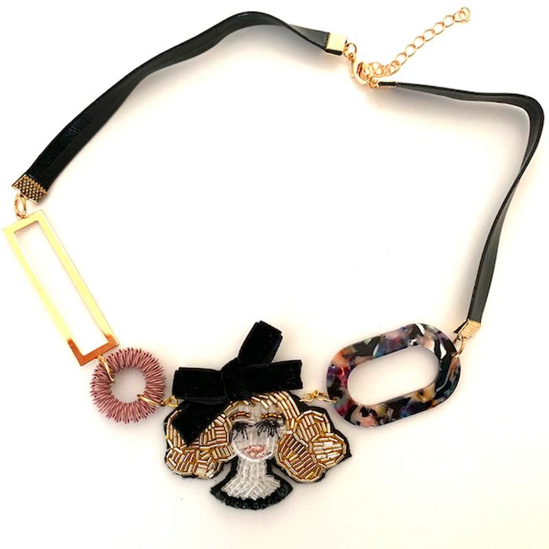 Miss.Black ribbon(ミス・ブラックリボン)チョーカー