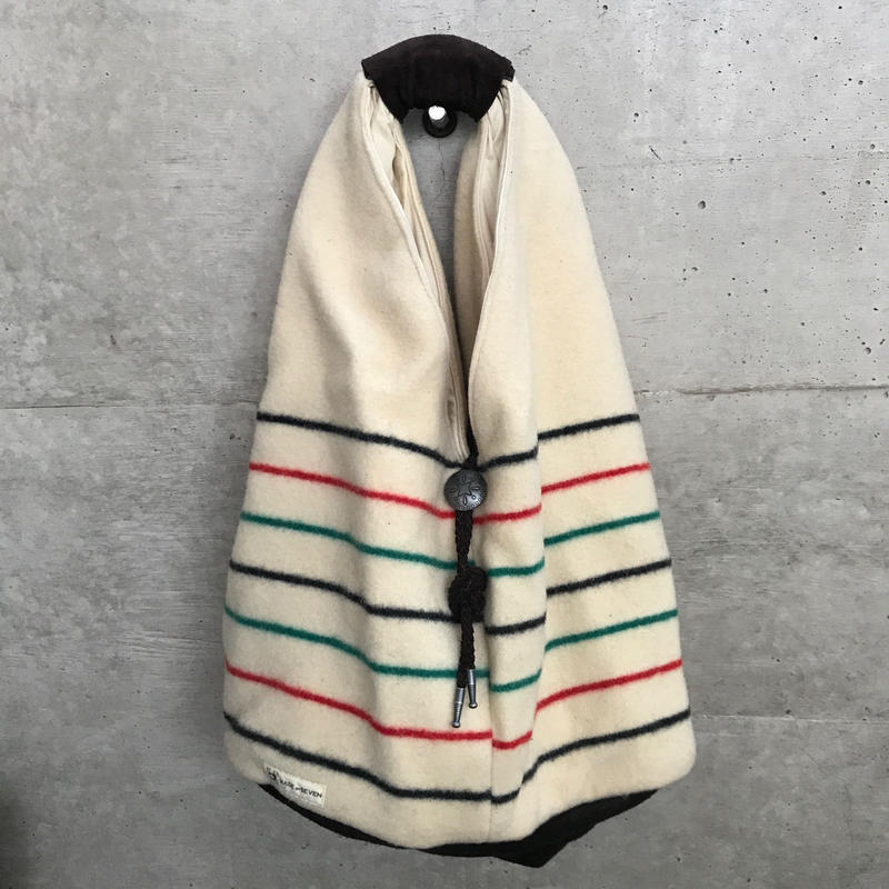 "T.K GARMENT SUPPLY ×MB7r HOBO BAG ""Natinal Park Vintage Blanket"""