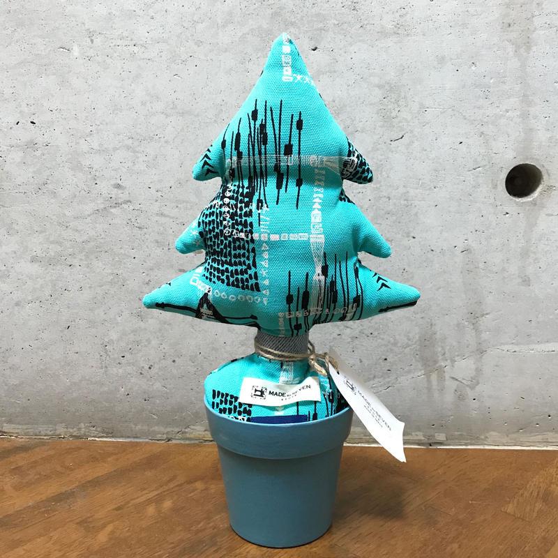 "MOOKIE SATO×MB7r LITTLE PLANTS TREE ""BLUE"""