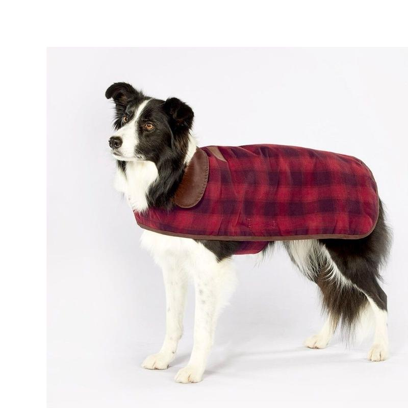 PENDLETON®  PET COLLECTION DOG COAT - RED OMBRE  medium ドッグコート レッド オンブレ柄 Mサイズ