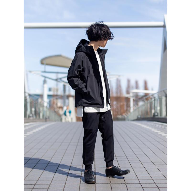 【KAZUYUKI KUMAGAI】  ナイロンポンチ6Pジョガーパンツ