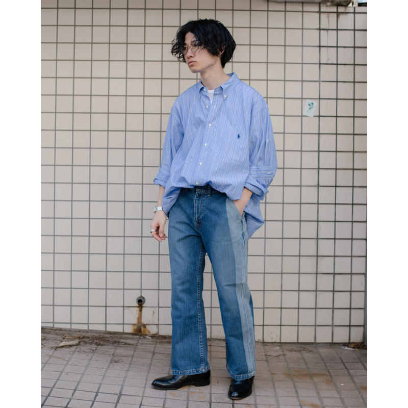 【no.】BOOTS CUT DENIM PANTS