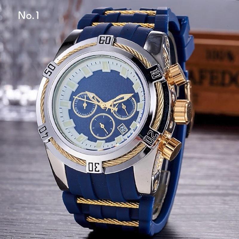 [インビクタ好きの方に] SUUTOOP メンズ クォーツ腕時計 ミリタリー ビッグフェイス 46mm