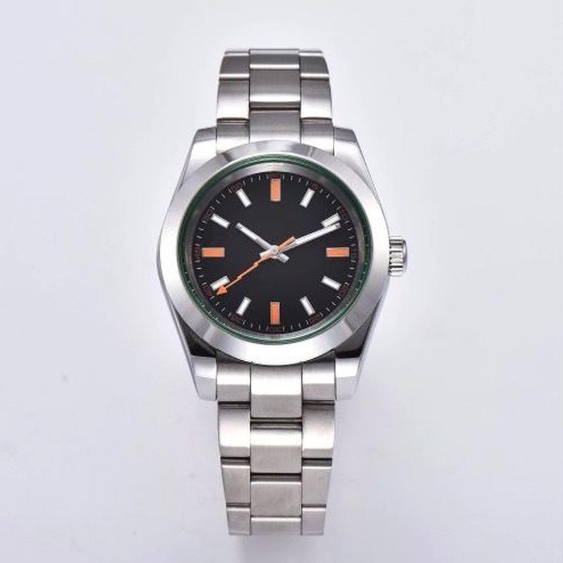 ノーロゴ腕時計 ミルガウススタイル メンズ 自動巻 40mm 316Lステンレス