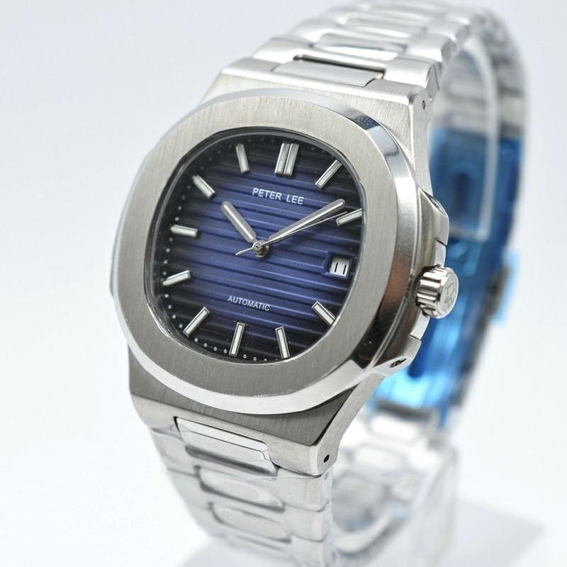 PETER LEE 自動巻き 機械式腕時計 メンズ 10色展開