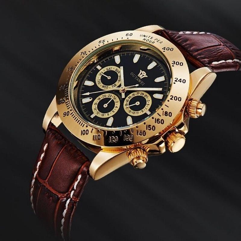 ロレックス好きの方に 自動巻 メンズ腕時計 防水