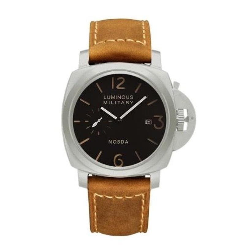 パネライ好きの方に クォーツ腕時計 メンズ ミリタリー