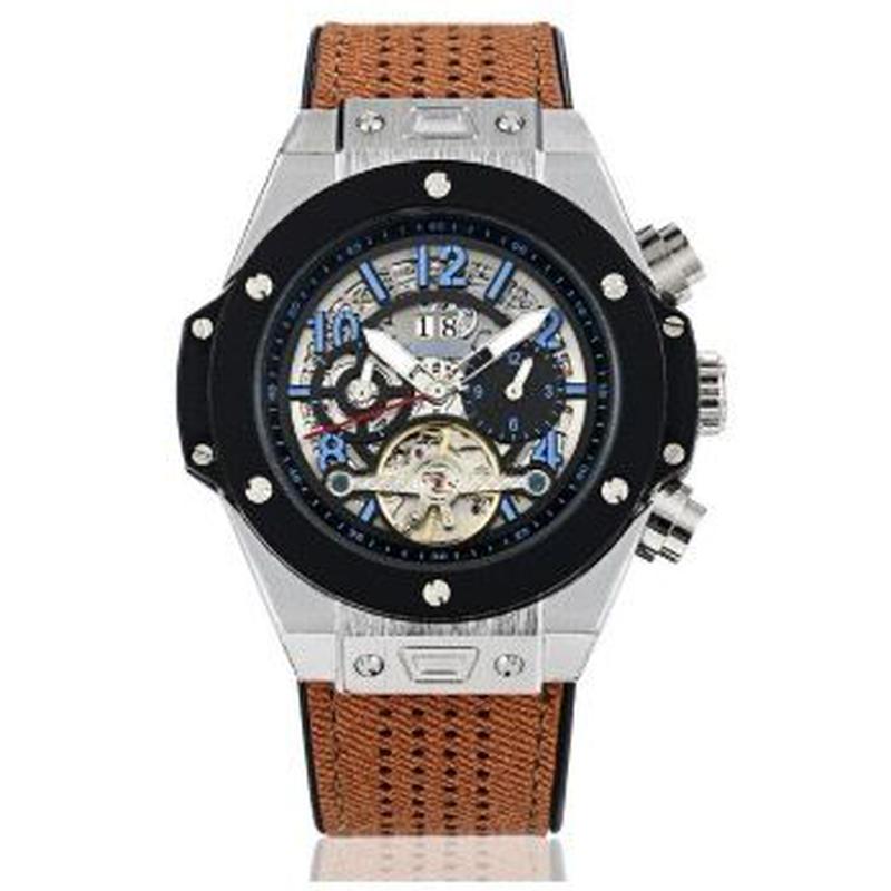 KIMSDUN 自動巻機械式腕時計 メンズ ラグジュアリー 3気圧防水 48mm