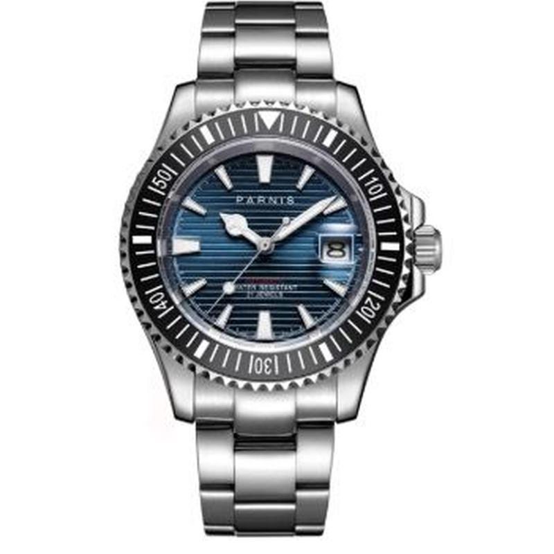 全6色 Parnis 2019新作腕時計 自動巻機械式 40mm