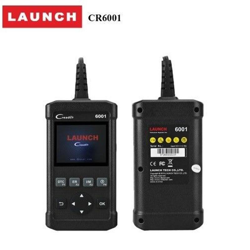 launch 6001 フルOBD2スキャナー 自動車診断ツール  コードリーダー 日本語対応