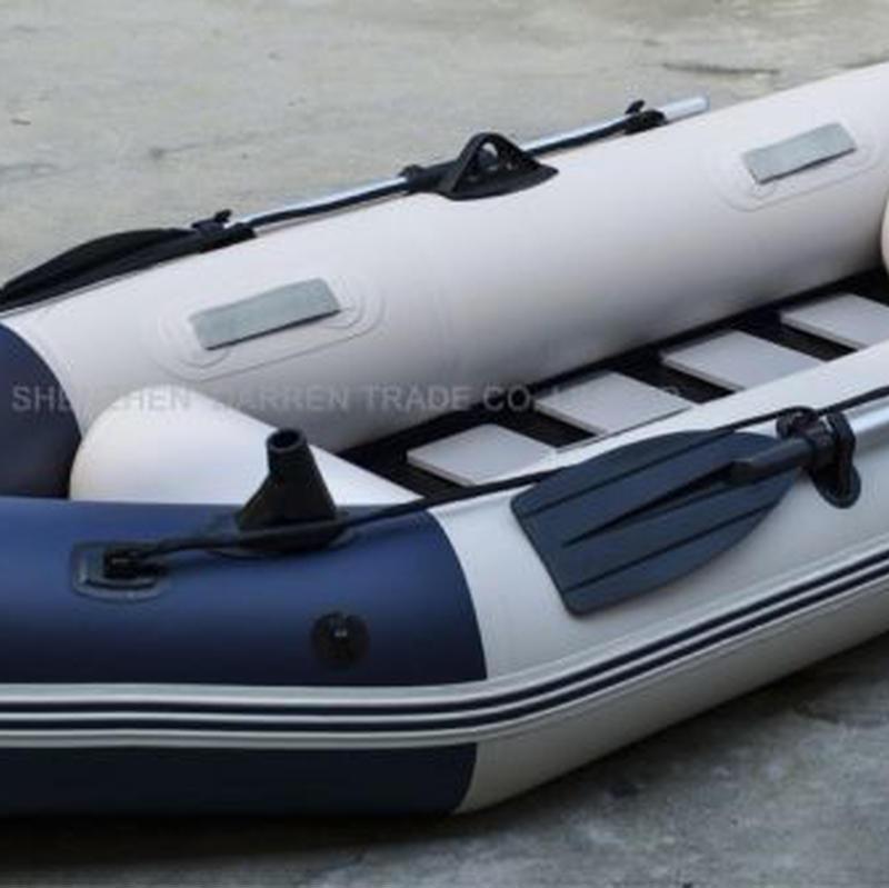 インフレータブル釣りボート 3人乗り 耐摩耗 漕ぎボート