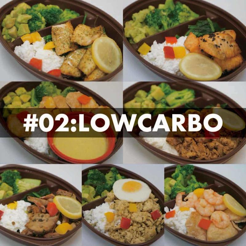 #2:ローカーボコース 7食セット