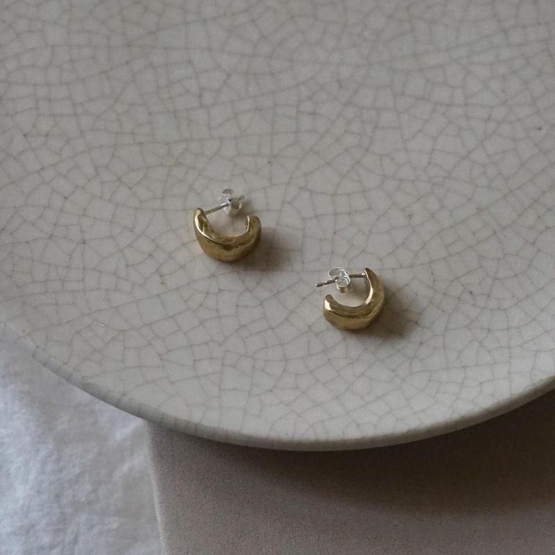 【受注販売8月中旬発送】mini motif pierce moon