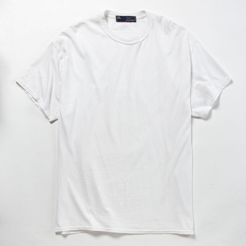 Anti-Stain 2 Pack Tee/WHITE [MW-CT18106]