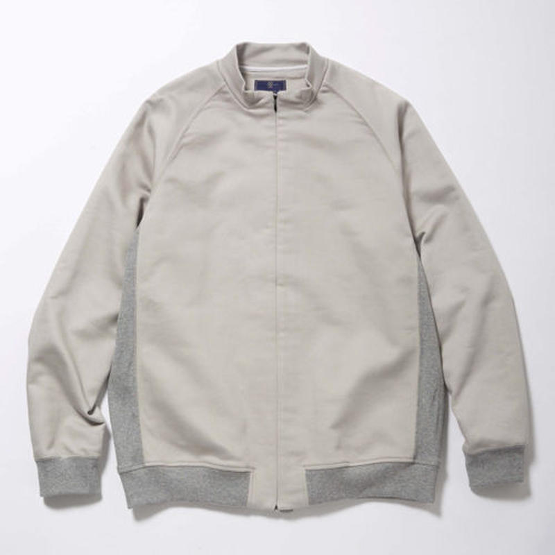 Woven Stretch Zip Sweat/GREY [MW-CT17204]