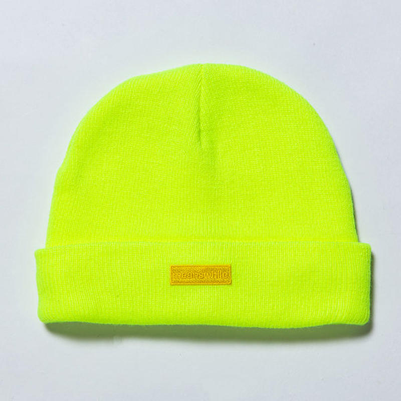 Knit Cap/SAFETY GREEN [MW-HT19103]