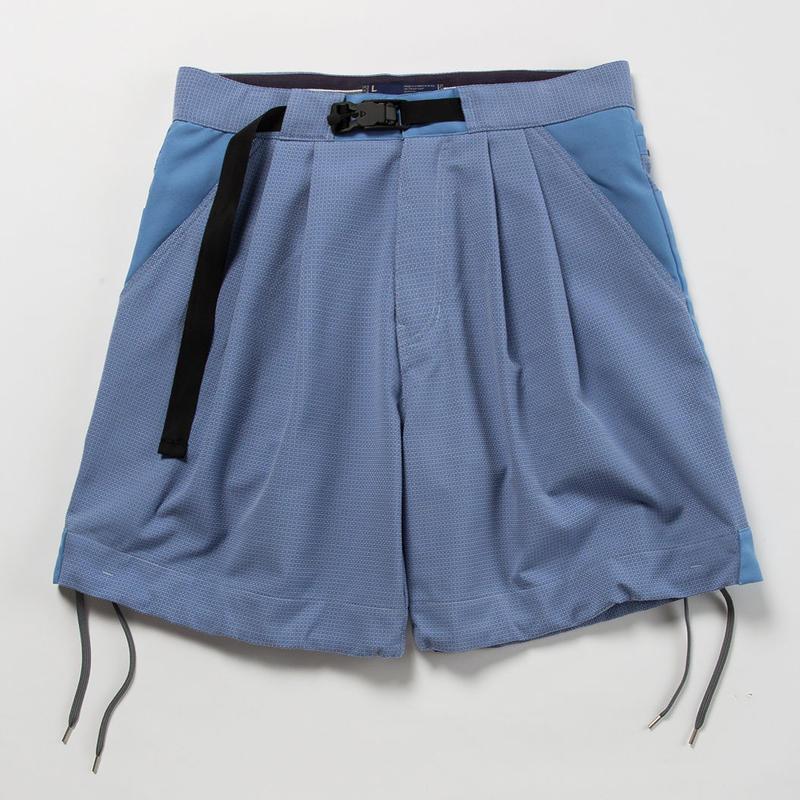 """""""Sashiko"""" Sack Shorts/SAX [MW-PT18108]"""