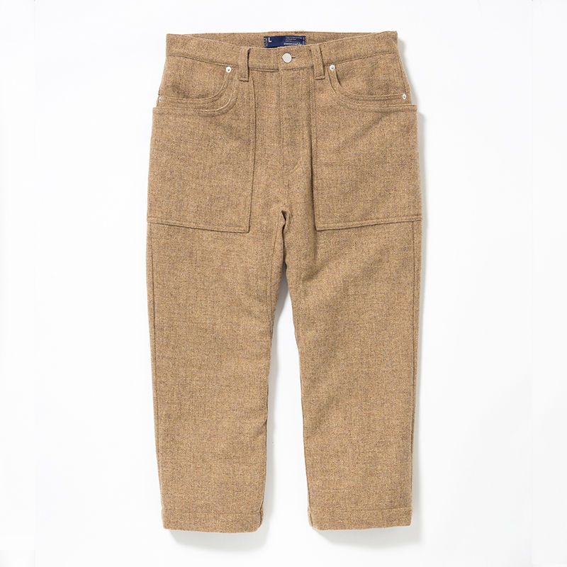 Wool Tweed Gardening 9/10 PT/BEIGE [MW-PT15204]