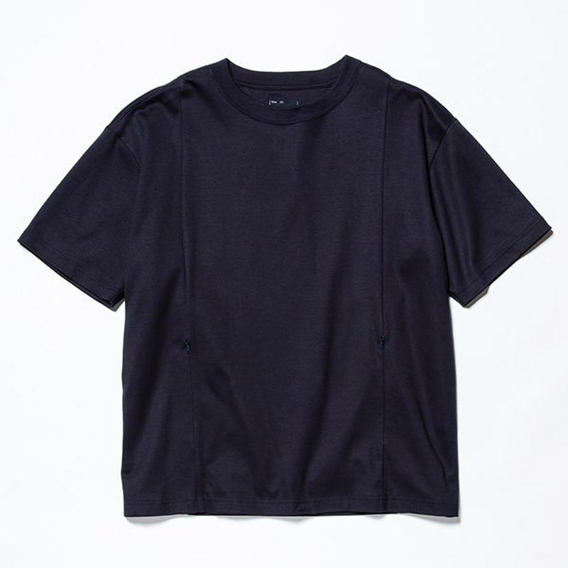 GIZA Cotton Sack Tee/NAVY [MW-CT19107]