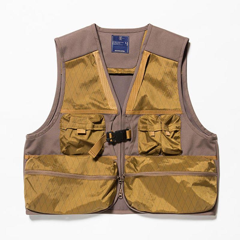 X-Pac/Cordura Luggage Vest/COYOTE [MW-JKT18203]