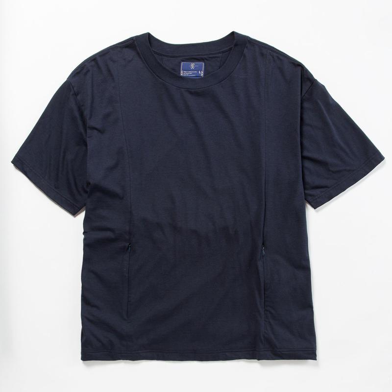 Cordura Jersey Sack Tee/NAVY [MW-CT18104]