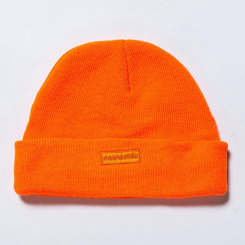 Knit Cap/SAFETY ORANGE [MW-HT19103]