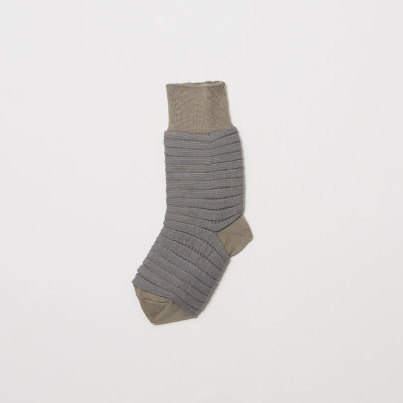 Bellows Sox/GREY [MW-AC17107]